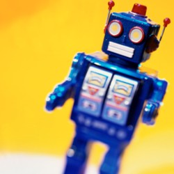 Don't be a social media robot.