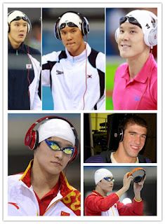 Olympic athletes and their Beats by Dr. Dre