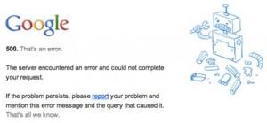 Error on Your Website