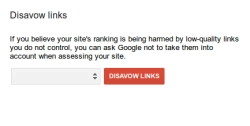 Disavow tool aims to help clean up the damage from black hat SEO link building schemes.