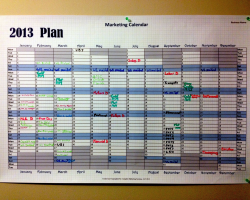 A Marketing Calendar ...