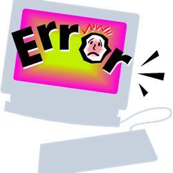 Error on you website