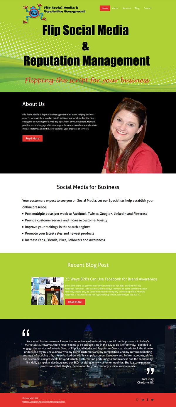 FLIP — Flip Social Medai & Reputation Management - 600